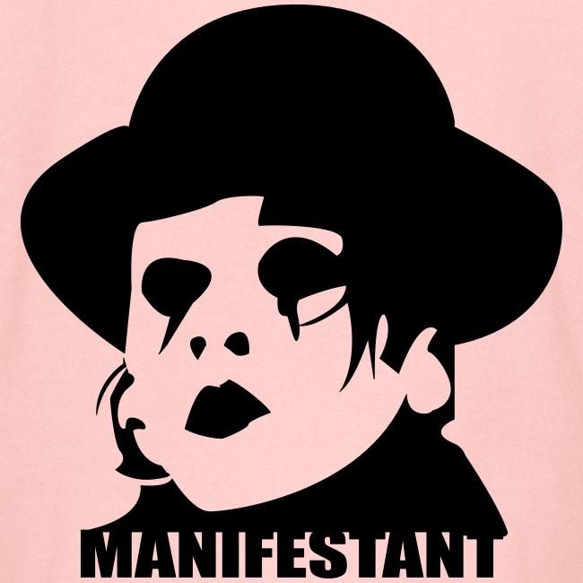 Manifestant (par Saturnain)