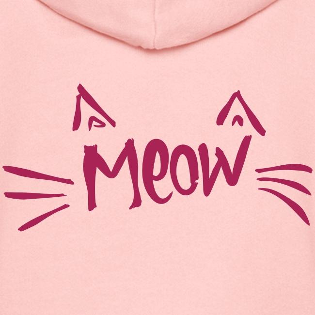 Vorschau: meow2 - Kinder Premium Kapuzenjacke