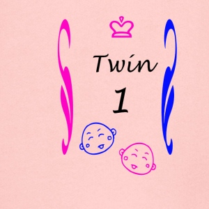 Shirts and more couples for twins boy Mädche - Kids' Premium Zip Hoodie
