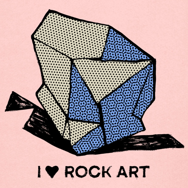 I LOVE ROCK ART No 1 colour