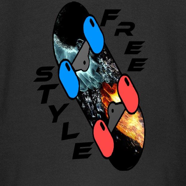Skateboard Freestyle