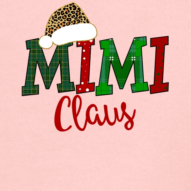 Mimi Claus Plaid And Polkadot