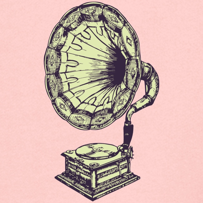 Musica grammofono vintage