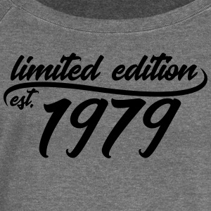 Limited Edition 1979 is - Pull Femme col bateau de Bella