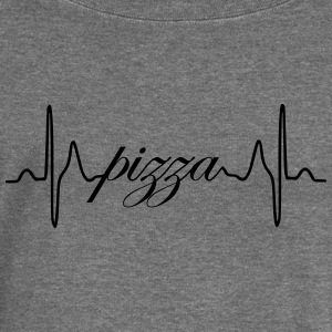 Pizza heartbeat ECG - Women's Boat Neck Long Sleeve Top