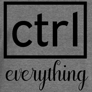 Ctrl everything - Women's Boat Neck Long Sleeve Top