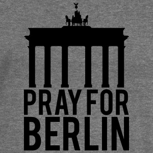 Pray for Berlin. Beds for Berlin - Women's Boat Neck Long Sleeve Top