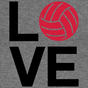 love volleyball - Women's Boat Neck Long Sleeve Top