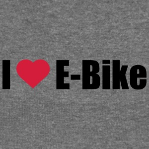 I love E-Bike - Women's Boat Neck Long Sleeve Top