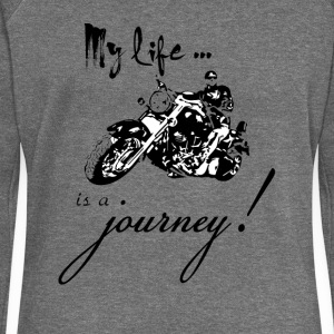 Life is a journey - Women's Boat Neck Long Sleeve Top