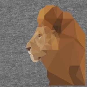 low poly lion - Women's Boat Neck Long Sleeve Top