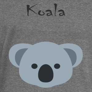 Koala bear - Women's Boat Neck Long Sleeve Top