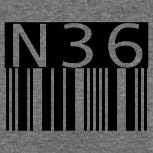 n36barcode - Women's Boat Neck Long Sleeve Top