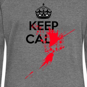 Keep calm serial killer - Women's Boat Neck Long Sleeve Top