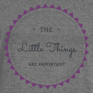 The little Things are important - Frauen Pullover mit U-Boot-Ausschnitt von Bella
