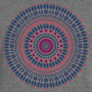 MANDALA / YOGA / MEDITATION - Women's Boat Neck Long Sleeve Top