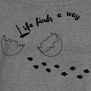 Life Finds Its Way - Women's Boat Neck Long Sleeve Top