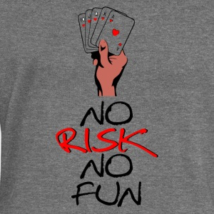 No Risk No Fun - Felpa con scollo a barca da donna, marca Bella