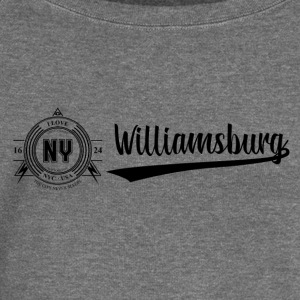 New York City · Williamsburg - Women's Boat Neck Long Sleeve Top
