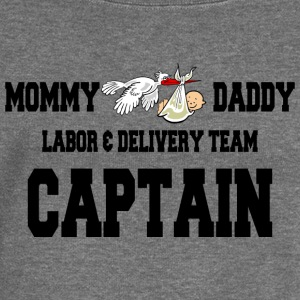 Labor And Delivery Team Captain - Women's Boat Neck Long Sleeve Top