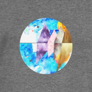 water color landscape - Women's Boat Neck Long Sleeve Top