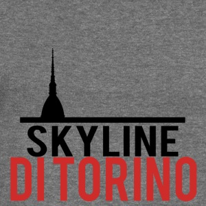 Skyline of Turin - Women's Boat Neck Long Sleeve Top