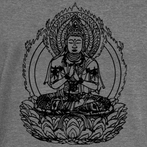 BUDDHA - INDIA T-SHIRT - Women's Boat Neck Long Sleeve Top
