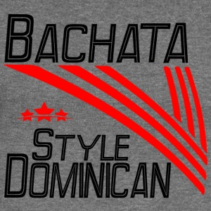 Bachata Style Dominican - Pro Dance Edition - Women's Boat Neck Long Sleeve Top