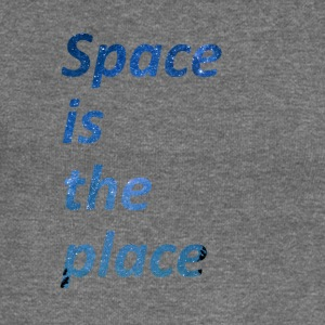 Space is the place - Women's Boat Neck Long Sleeve Top