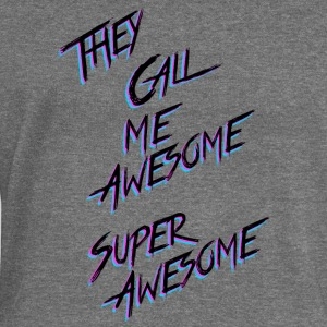 They call me Awesome - Women's Boat Neck Long Sleeve Top