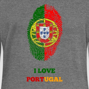 I LOVE PORTUGAL - Women's Boat Neck Long Sleeve Top