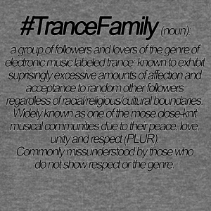 Definition of Trance Family - Women's Boat Neck Long Sleeve Top