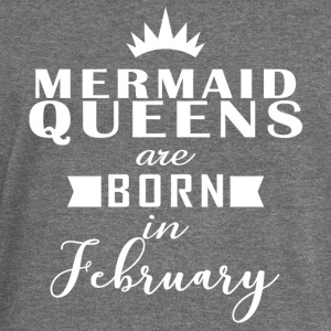 Mermaid Queens February - Women's Boat Neck Long Sleeve Top