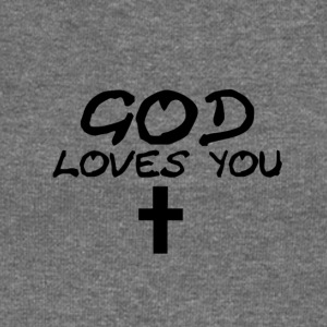 God Loves You - Women's Boat Neck Long Sleeve Top