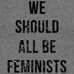 We Should All Be Feminists - Sudadera con escote drapeado mujer