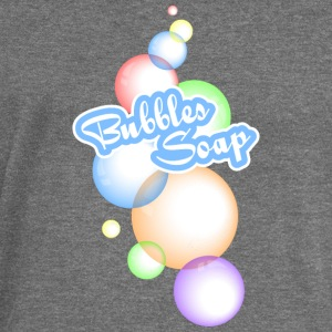 Soap Bubbles - Women's Boat Neck Long Sleeve Top