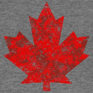 Canada Canada Maple Leaf Maple Leaf Grunge-Amerika - Damegenser med båthals fra Bella