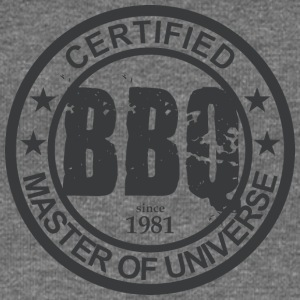 Certified BBQ Master 1981 Grillmeister - Women's Boat Neck Long Sleeve Top