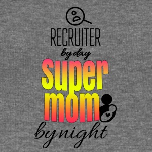 Recruiter by day and super mom by night - Women's Boat Neck Long Sleeve Top