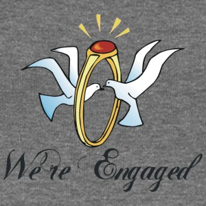 We're Engaged - Women's Boat Neck Long Sleeve Top