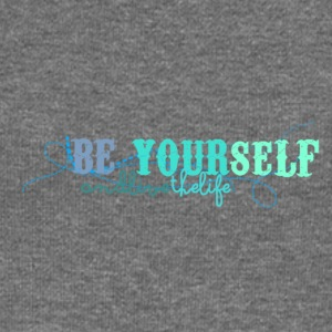 frase_png_beyourself_and_live_the_life_by_by_milii - Pull Femme col bateau de Bella