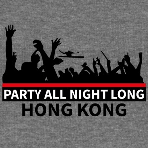 HONG KONG - Party All Night Long - Frauen Pullover mit U-Boot-Ausschnitt von Bella