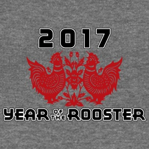 2017 Year Of The Rooster - Women's Boat Neck Long Sleeve Top
