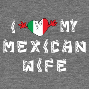 I Love My Mexican Wife - Women's Boat Neck Long Sleeve Top
