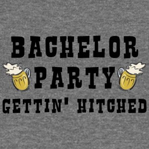 Bachelor Party Getting Married - Women's Boat Neck Long Sleeve Top