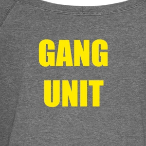 Gang unit - Women's Boat Neck Long Sleeve Top