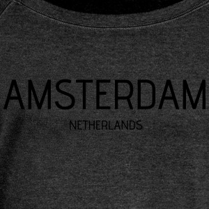 amsterdam - Women's Boat Neck Long Sleeve Top