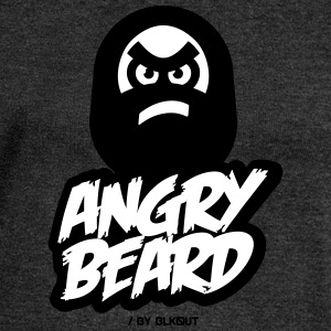 ANGRY BEARD - Women's Boat Neck Long Sleeve Top