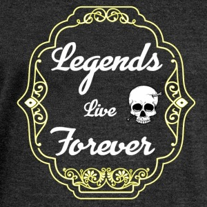 Legends live Forever - Women's Boat Neck Long Sleeve Top