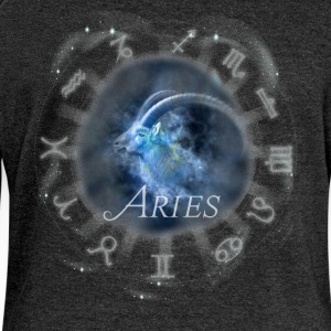 aries Capricorn zodiac sign horoscope image - Women's Boat Neck Long Sleeve Top
